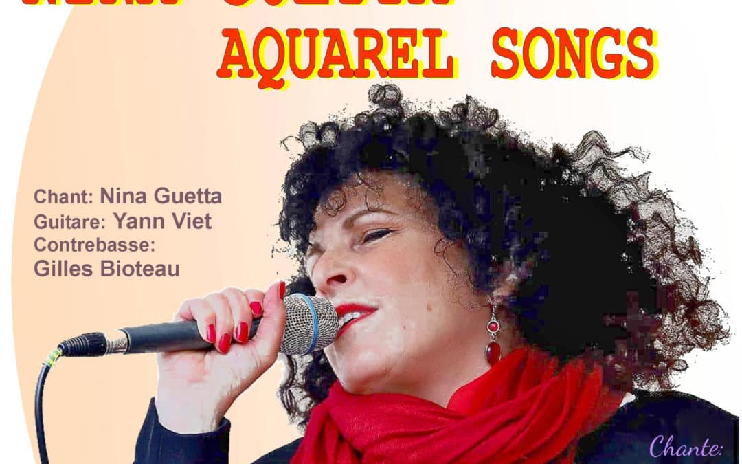 Concert at the Théâtre F.Dyrek in Joinville Le Pont, friday th 4.10.19. French Song