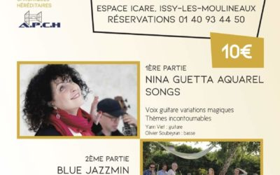 Concert at the Espace Icare in Issy Les Moulineaux on 11.10.19. French Song